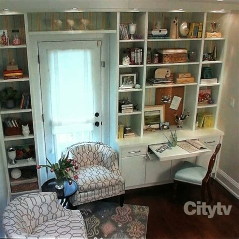 a desk out of bookshelves 88 best images about tv corner shelves on in