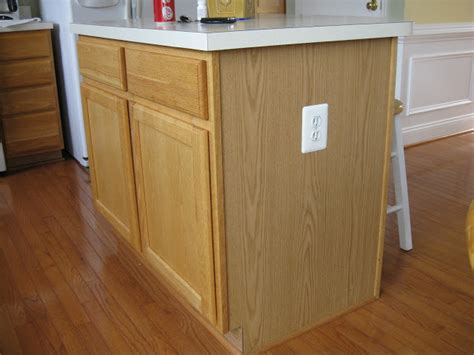 kitchen island base cabinets kitchen island update remodelando la casa