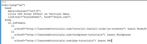 javascript jade tutorial jade exle code showing some jade syntax learn web