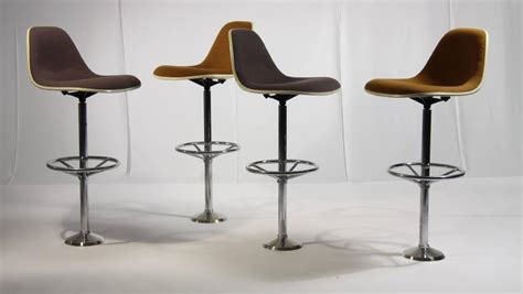 charles eames bar stool vintage bar stools by ray and charles eames for herman