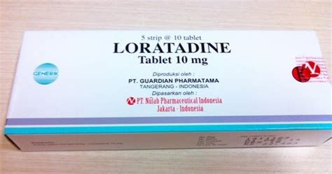 Obat Loratadine loratadine manfaat dosis efek sing dan harga