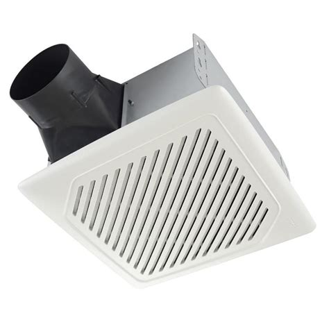 lowes bathroom ceiling fans shop broan 1 sone 110 cfm white bathroom fan energy star