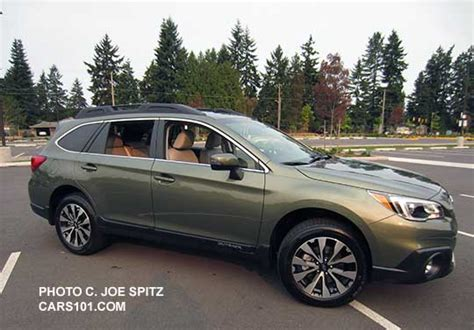 subaru wilderness green 2016 outback exterior photographs