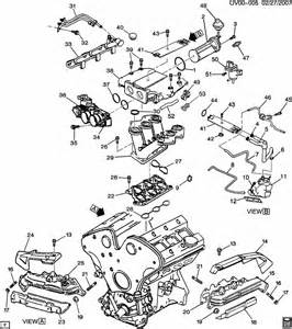 2001 Cadillac Catera Parts Engine Asm 3 0l V6 Part 5 Manifolds And Fuel Related Parts