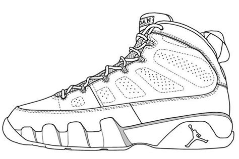 coloring pictures of basketball shoes basketball coloring pages like jordan of a possible