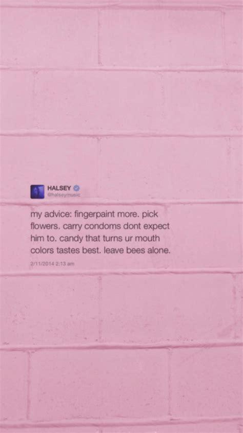 halsey layout twitter halsey tweets lockscreens