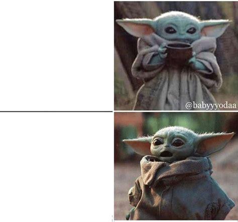 meme generator calm  scared yoda drake template