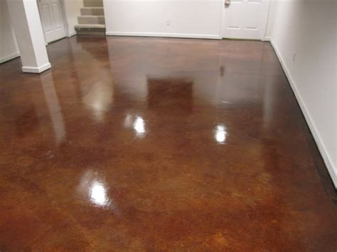 Basement Gallery   Decorative Concrete Resurfacing