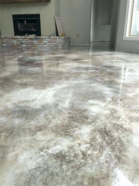 design ideas. Gray stained concrete floors   Floor for