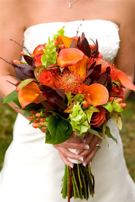 Fall Wedding Bouquets by Fall Wedding Flowers And Bouquets Sang Maestro