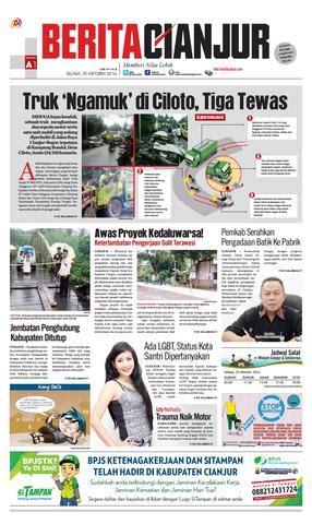 gita di majalah tabloid page 2 gitalovers berita cianjur truk ngamuk di ciloto tiga tewas by