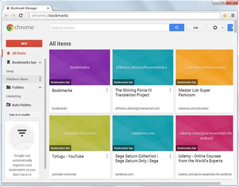 chrome bookmark add on google releases bookmark manager extension for