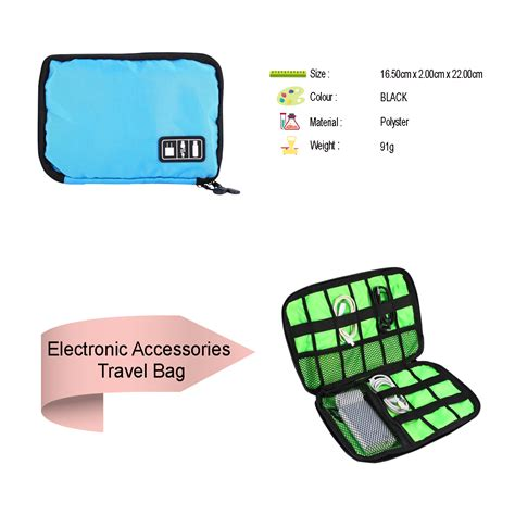 Usb Power Car Charger Travel Organizer Charger Cas Mobil drop shipping travel universal cable organizer electronics