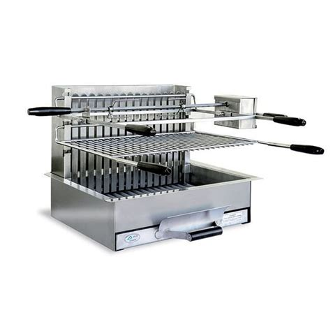 Foyer Barbecue Encastrable 249 by Barbecue Grillade 224 Charbon En Inox M 232 Ze Achat Vente