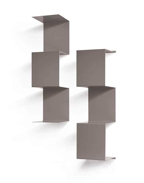 mensole metallo design mensole in metallo colorato modulare e di design