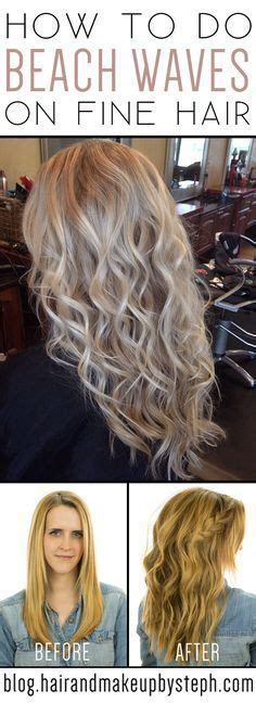 how to perm fine thin hair 25 best ideas about beach wave perm on pinterest loose