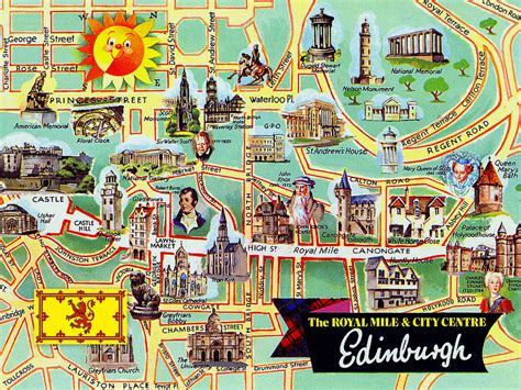 map of edinburgh scotland tourist map of edinburgh search gezmeler