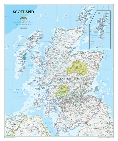 libro scotland mapping the nation national geographic scotland