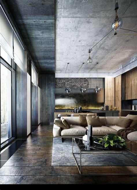 loft design un loft sombre en ukraine planete deco a homes world