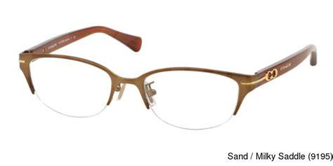 buy coach hc5058 jackie semi rimless half frame prescription eyeglasses