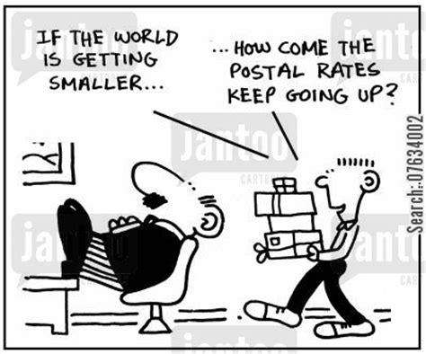 postal rates cartoons humor from jantoo cartoons