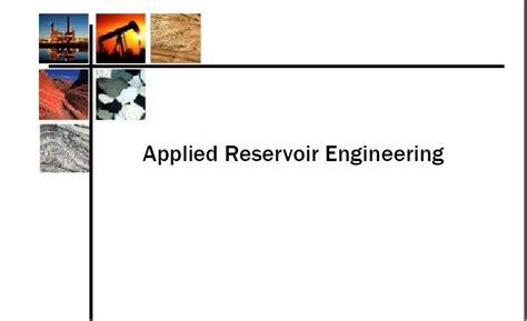 applied petroleum reservoir engineering link for download http g applied reservoir engineering free download petroleum