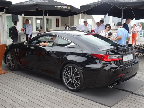 lexus rc 350 blacked out photos black lexus rc f with full carbon fiber package