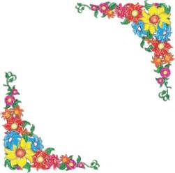 flower border clip art at clker com vector clip art online royalty free public domain