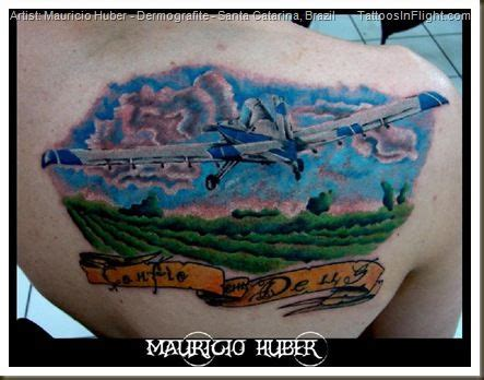 airplane tattoo fail crop dusting in ink ayres thrush ag plane tattoo