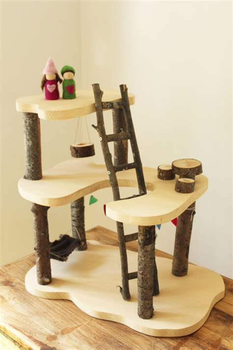 tree house doll house 1000 ideas about wooden tree house on pinterest waldorf toys tree houses and