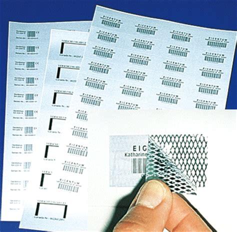 Aufkleber Folie Laserdrucker by Etiketten Siegel Aufkleber A4 Bogen Etiketten F 252 R