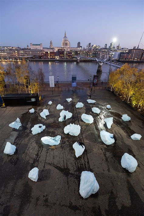 ice  london united kingdom olafur eliasson