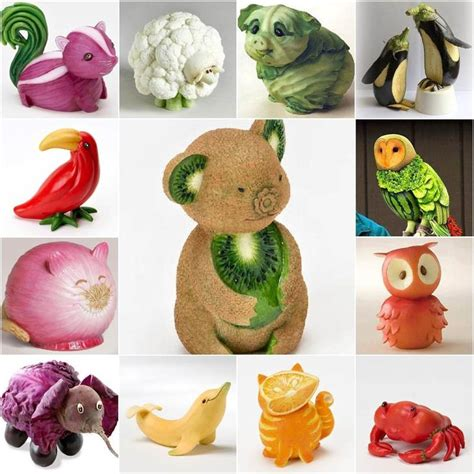 25 best ideas about vegetable animals on