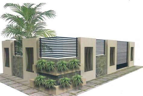 desain lu minimalis gambar pagar rumah modern terbaru