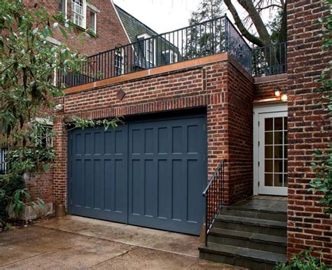 Swing Out Garage Door A Garage Turned Family Room House House