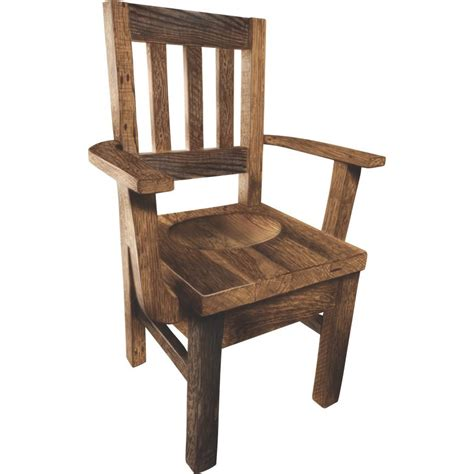 one arm bench settler s arm chair amish crafted furniture