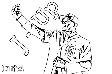 detroit tigers coloring pages printable coloring pages