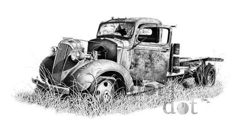 boat junk yard oklahoma better days is a pen and ink drawing i did of an old