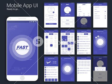 design brief app file transfer and sharing mobile app material design ui