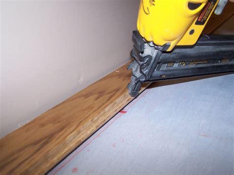 Hardwood Floor Nails How To Install Hardwood Flooring