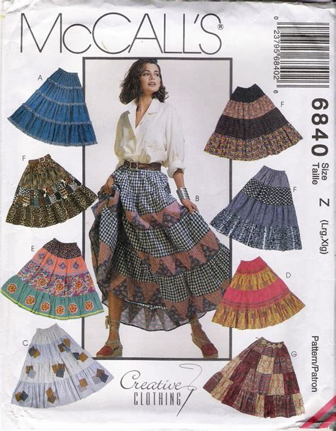 Patchwork Skirt Pattern - womens patterns patchwork skirt pattern broomstick skirt