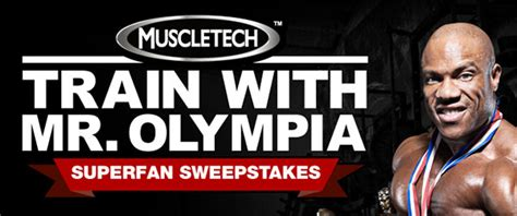 Mr Millionaire Sweepstakes - train with mr olympia in colorado muscletech s second big announcement stack3d