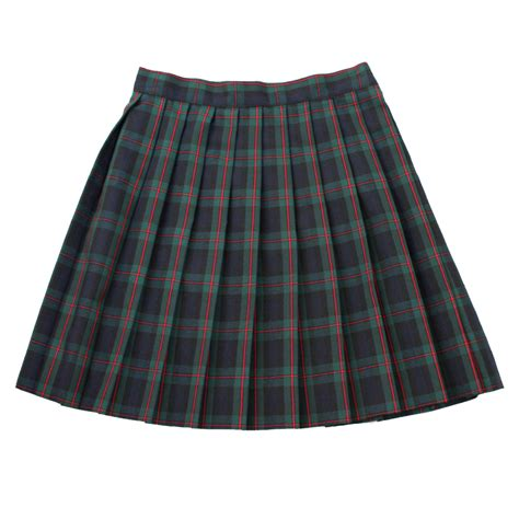 notre dame catholic academy pleated plaid skirt ideal
