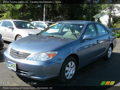 2004 blue toyota camry blue metallic 2004 toyota camry le