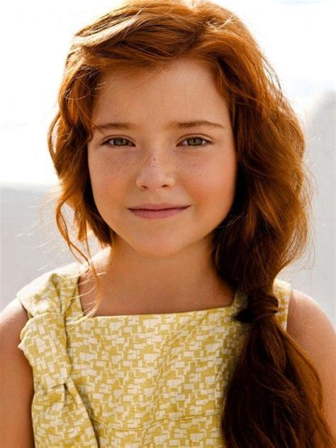 kid actresses with red hair love yellow on redheads designer kids pinterest