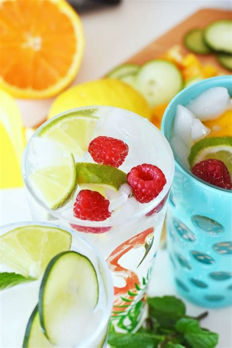 simply made with raspberry lime water 5 of the prettiest fruit water ideas