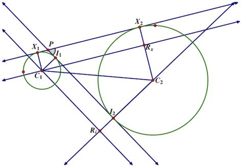 Interior Angles Of A Circle by Geometry Circle Bitangent Angles Mathematics Stack