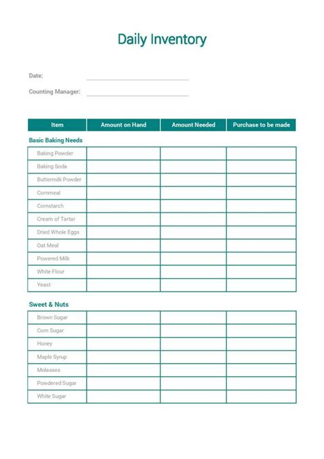 7 Inventory Templates For Effective Product Management Free Premium Templates Daily Inventory Sheet Template