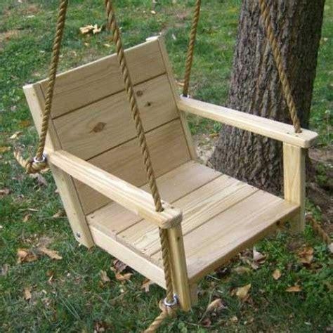diy chair tree swing wood swings co engravable wooden rope swing chair