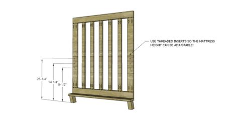 Nod A Way Crib by Free Diy Furniture Plans To Build A Land Of Nod Inspired